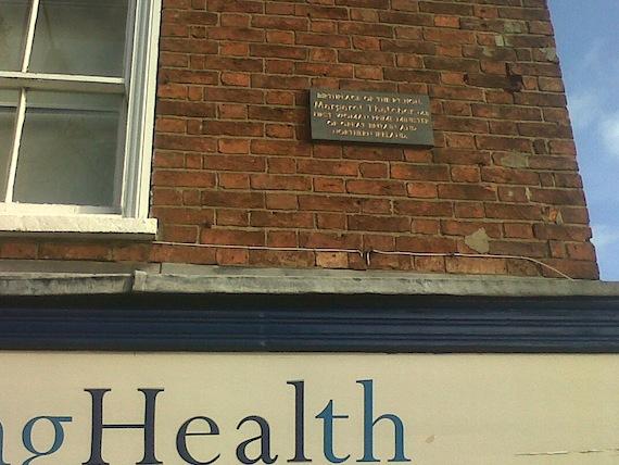 Maggie plaque